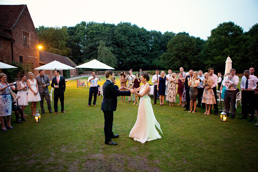 A classic Summer Country House Wedding in Essex - First dance | CHWV