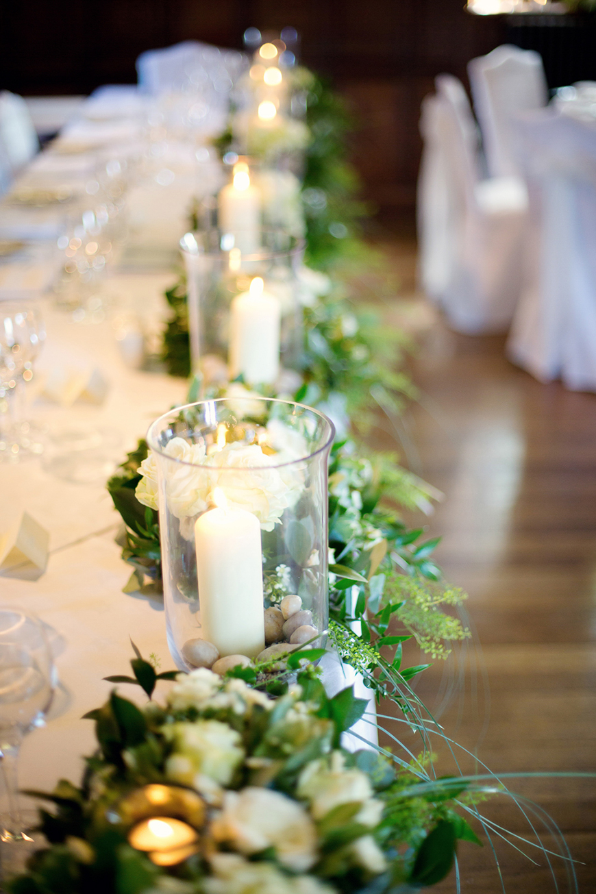 A classic Summer Country House Wedding in Essex - Candles | CHWV