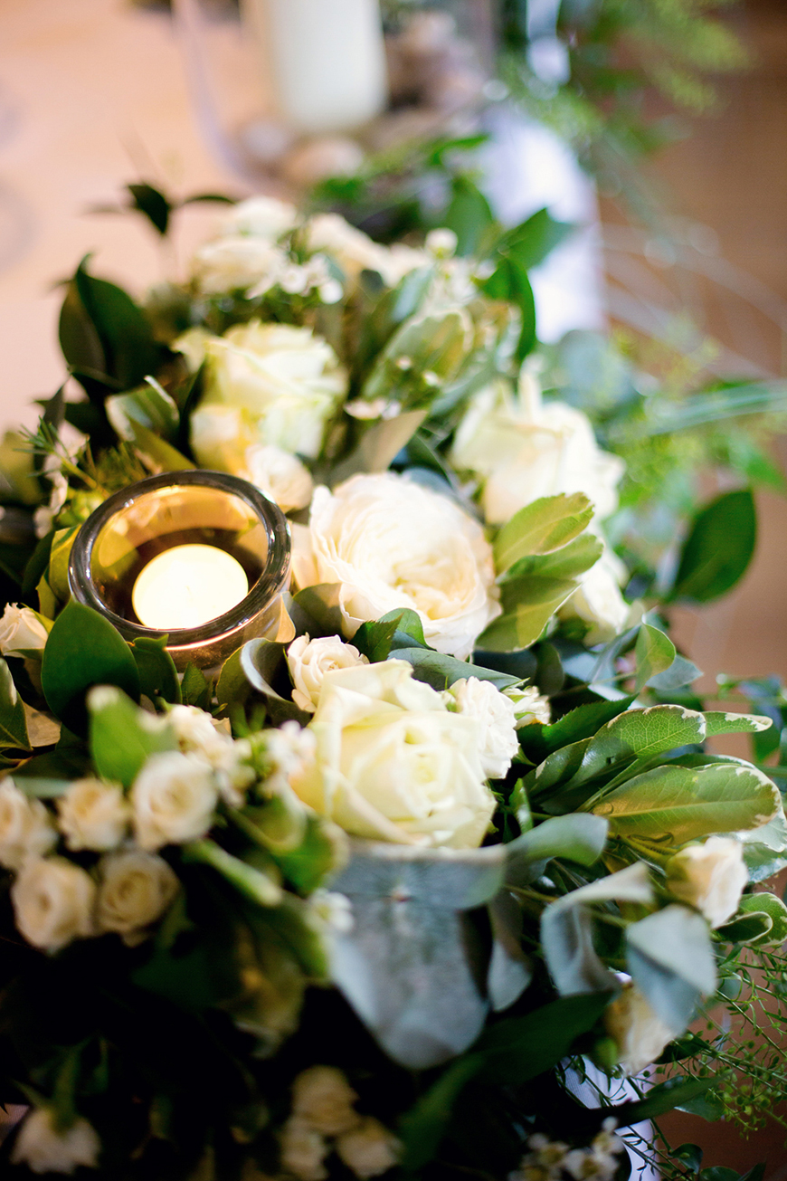 A classic Summer Country House Wedding in Essex - Candles and flowers | CHWV