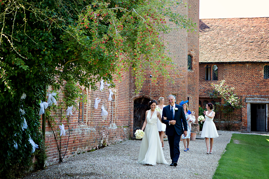 A classic Summer Country House Wedding in Essex - Hilary's dress | CHWV