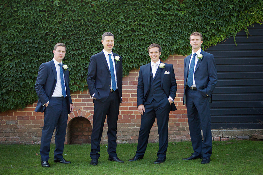 A classic Summer Country House Wedding in Essex - Gregory's suit | CHWV