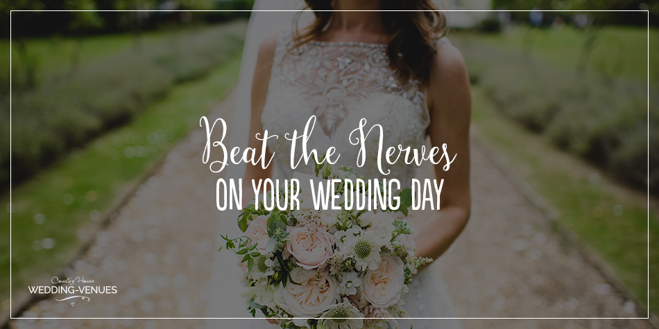 There's no doubt about it, your wedding is a BIG day and you naturally want it to be brilliant. It's no surprise that lots of couples feel the wedding day nerves building but you don't want to spend your day feeling worried or anxious. If you want to know how to beat the nerves and feel fabulous all day long, this feature is an absolute must-read. Serene and calm is right this way…