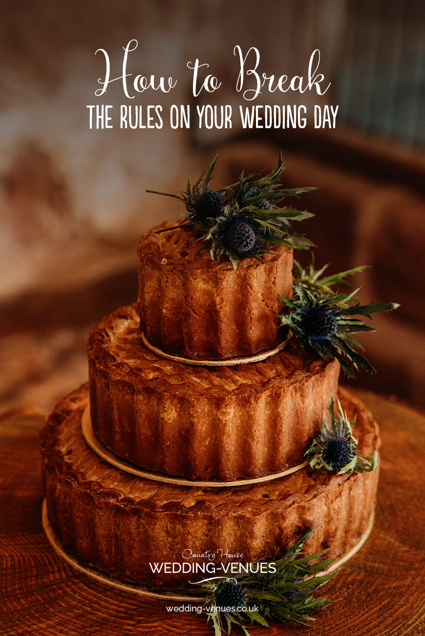 How To Break The Rules On Your Wedding Day | CHWV