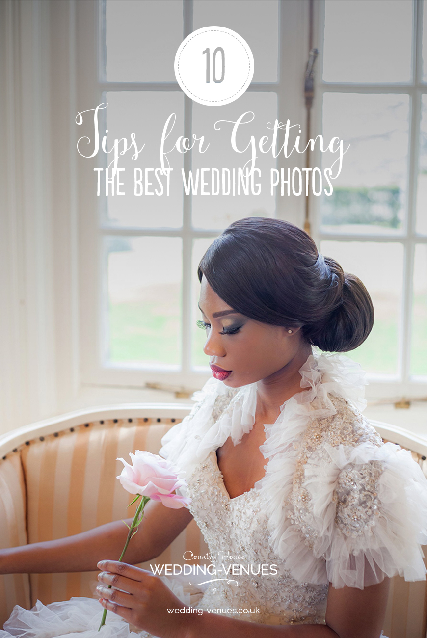 10 Tips For Getting The Best Wedding Photos | CHWV