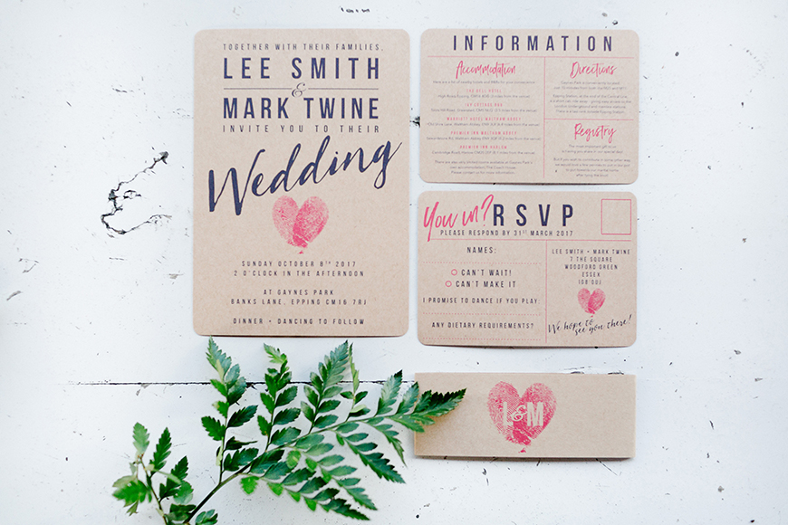 How To Plan A Wedding In 6 Months - Send the invites | CHWV