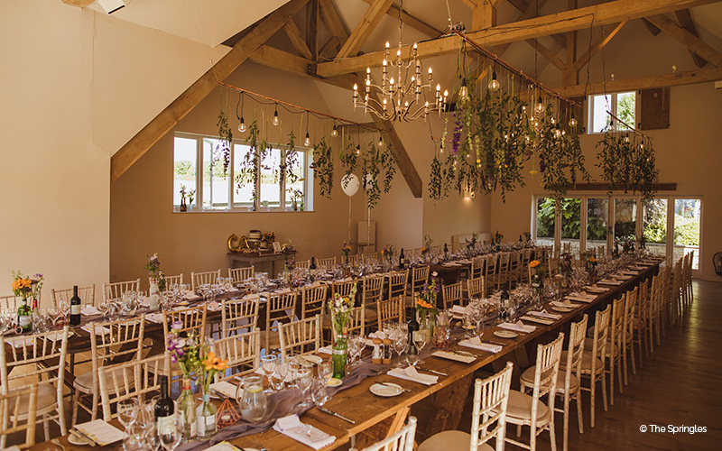 Barn Wedding Venue in Gloucestershire | Hyde House and ...