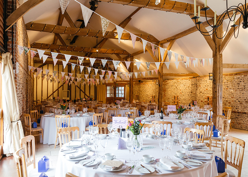Real Wedding - Stuart and Ian's Spring Wedding at Upwaltham Barns | CHWV
