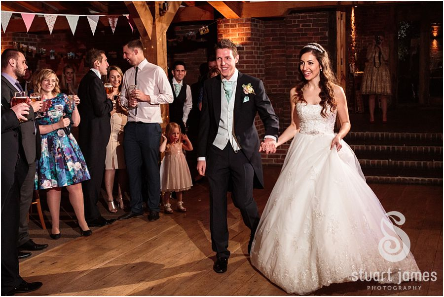 A feel-good, autumnal wedding at Packington Moor - First dance | CHWV