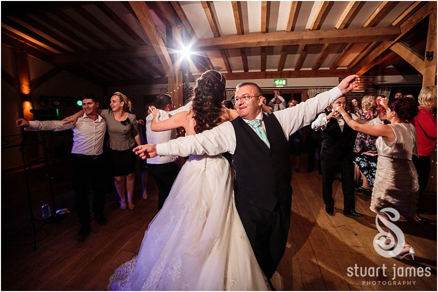A feel-good, autumnal wedding at Packington Moor - First dance   CHWV