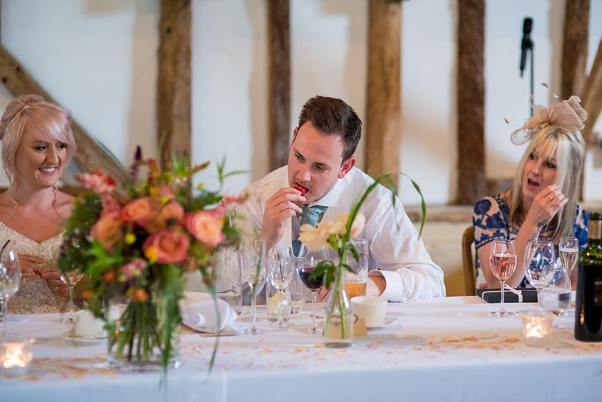 Real Wedding - Jade and James' Rustic Country Wedding At Clock Barn | CHWV