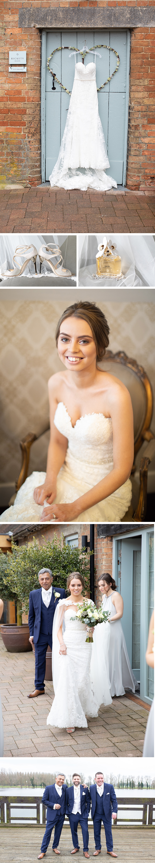 Real Wedding - Jade and Jason's Easter Wedding At Bassmead Manor Barns | CHWV