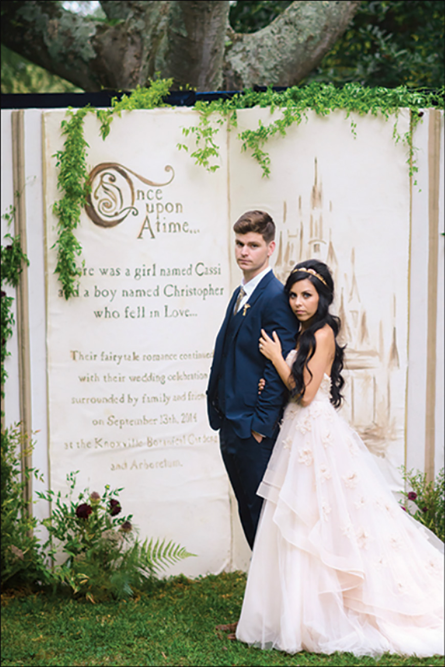 25 Jaw Dropping Wedding Ideas - Storybook romance | CHWV