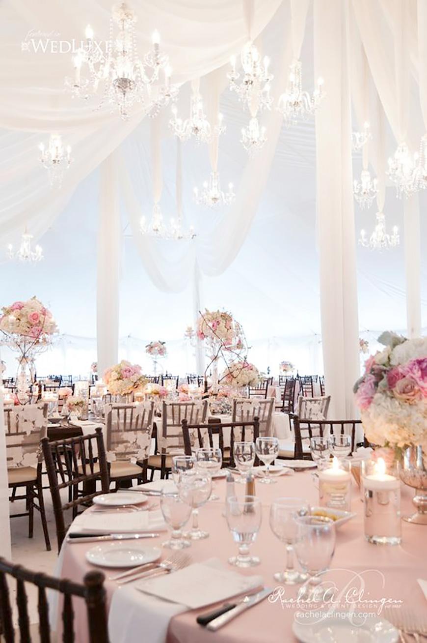 25 Jaw Dropping Wedding Ideas - Chic chandaliers | CHWV