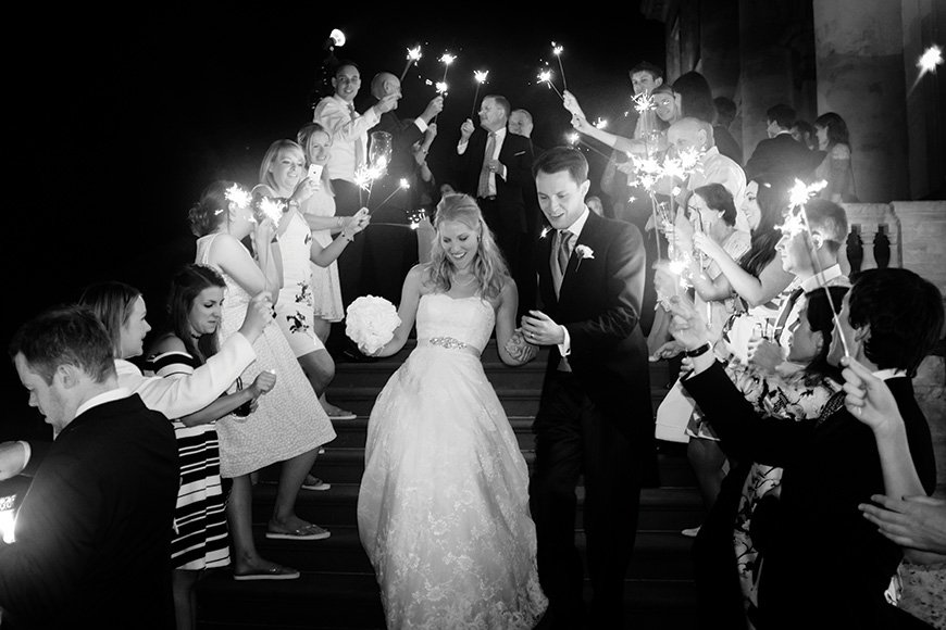25 Jaw Dropping Wedding Ideas - Let it sparkle | CHWV