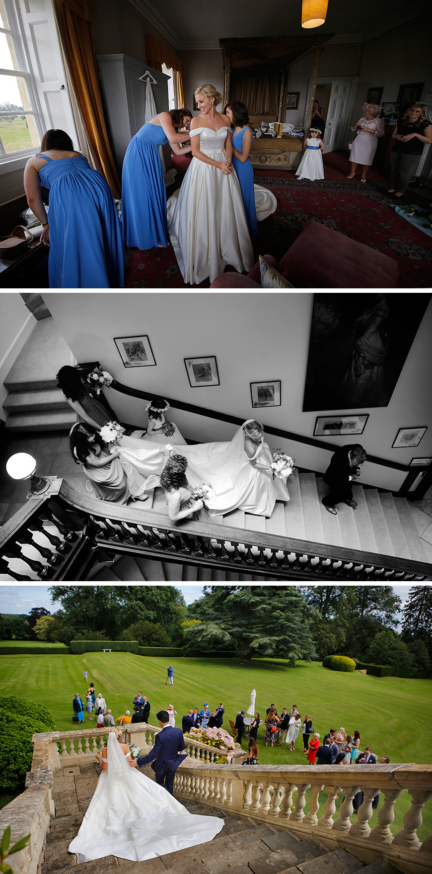 Real Wedding - Jennifer and David's Elegant Summer Wedding at Kirtlington Park | CHWV