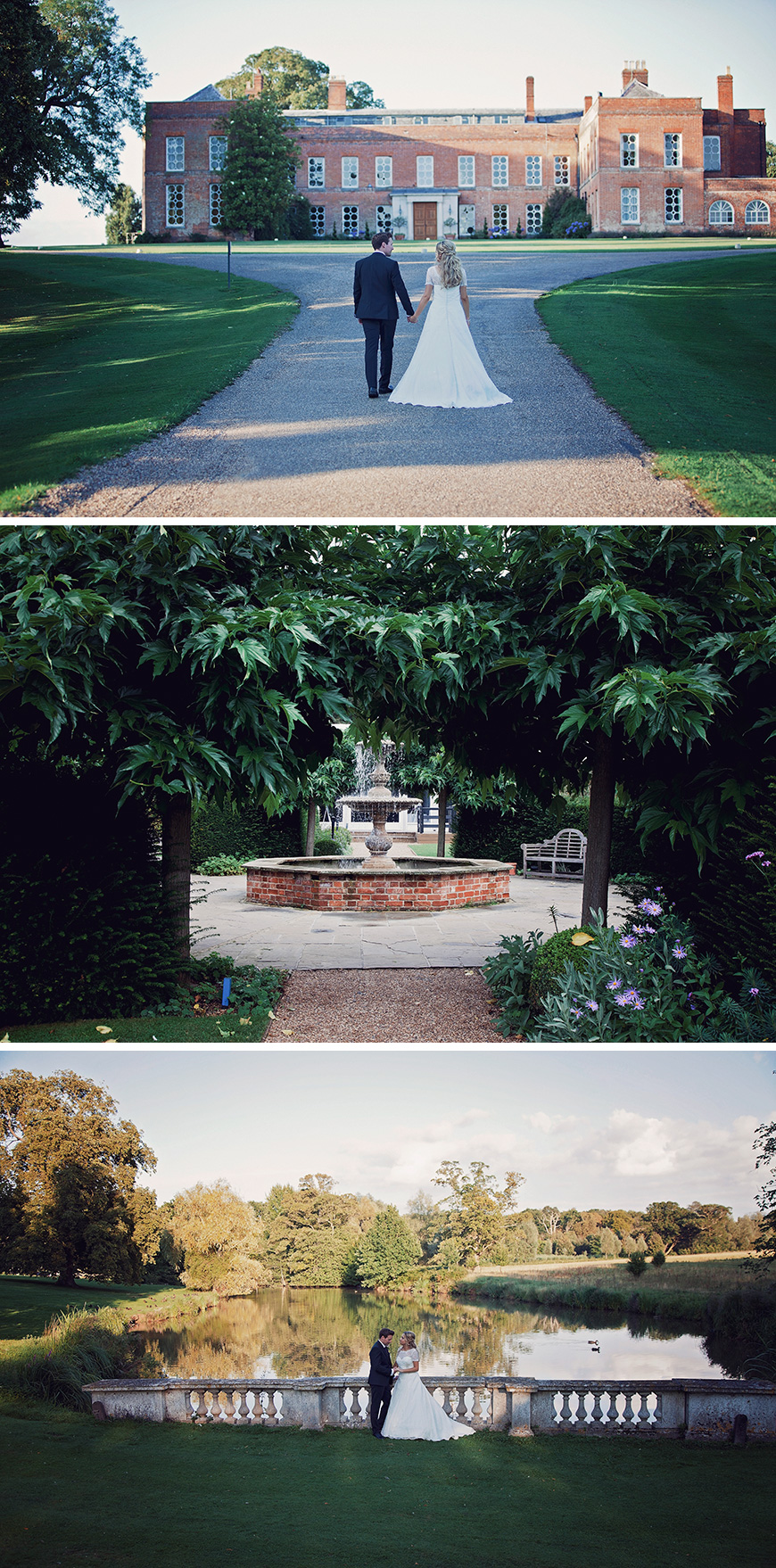 Real Wedding - Summer Elegance at Braxted Park