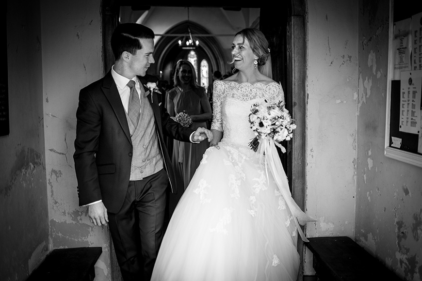 Real Wedding - Jenny and Andrew's St. Patrick's Day Wedding At Wasing Park | CHWV