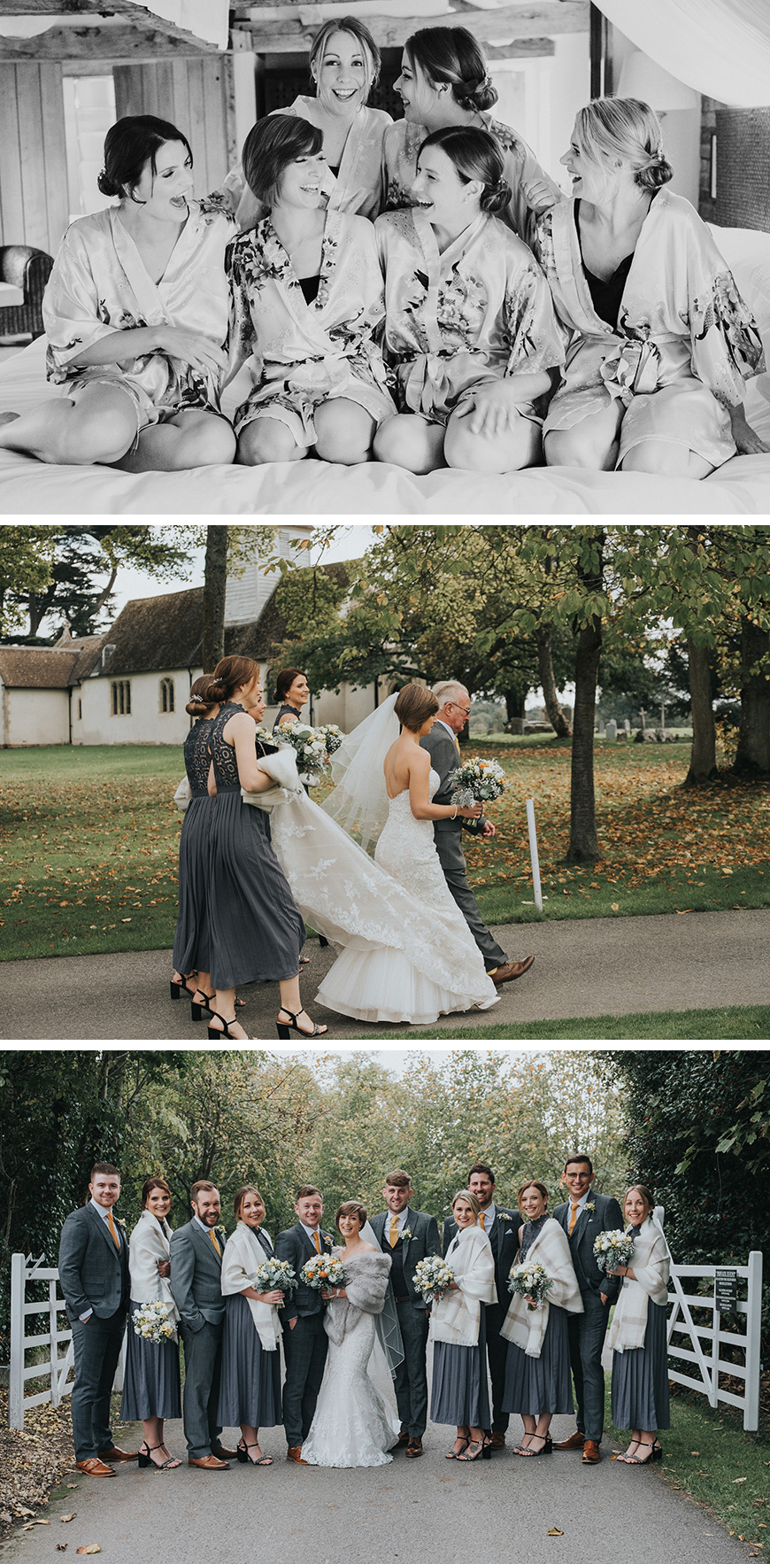 Real Wedding - Jenny and Steve's Handmade Autumn Wedding At Wasing Park | CHWV
