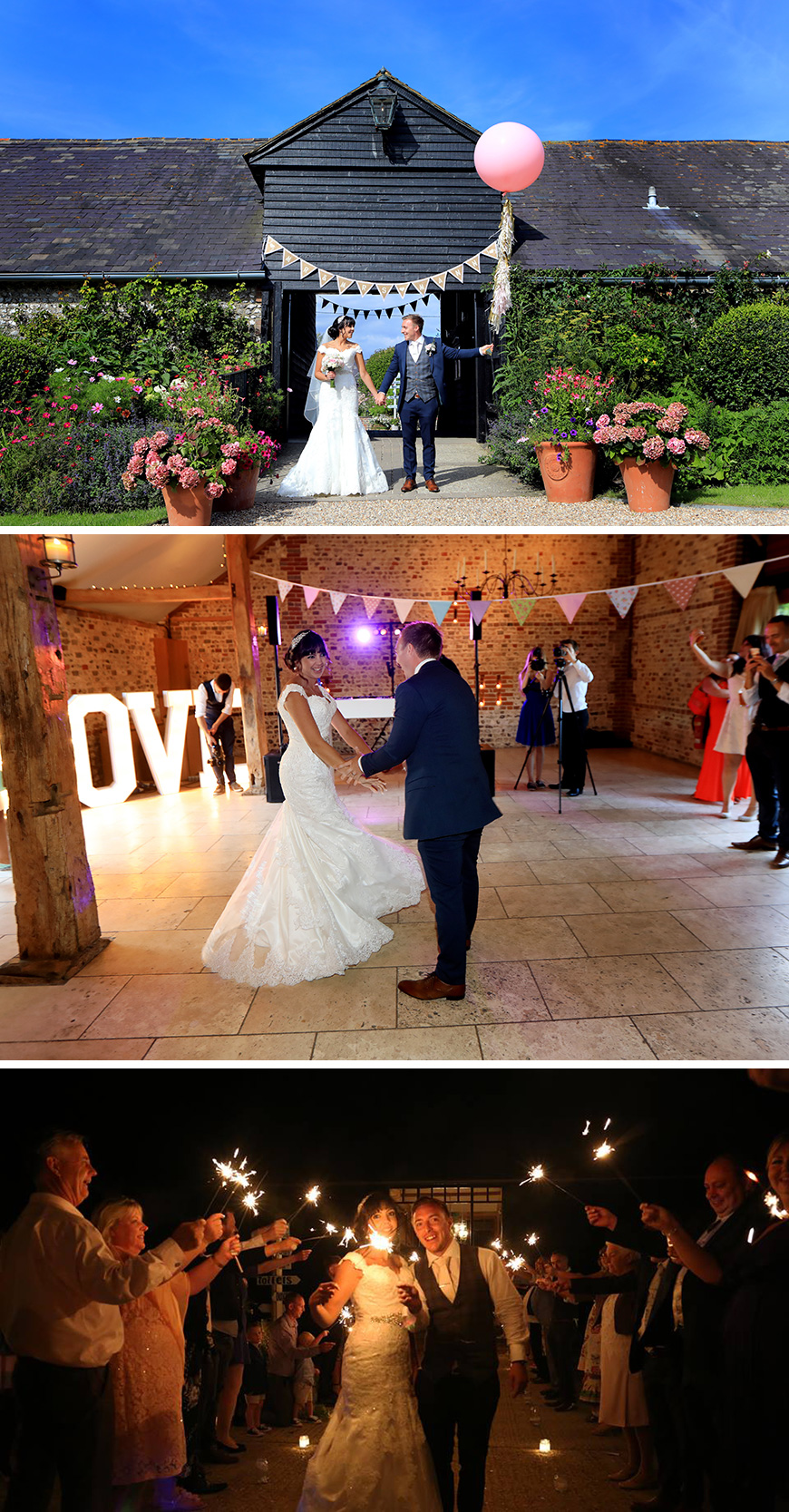 Real Wedding - Jessica and Jon's Retro Summer Wedding at Upwaltham Barns | CHWV