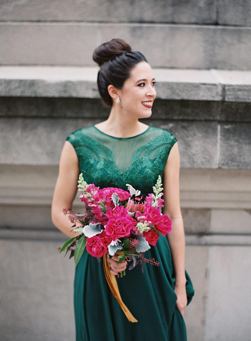 Wedding Ideas By Colour: Jewel Tone Wedding Theme - Bridal Style | CHWV