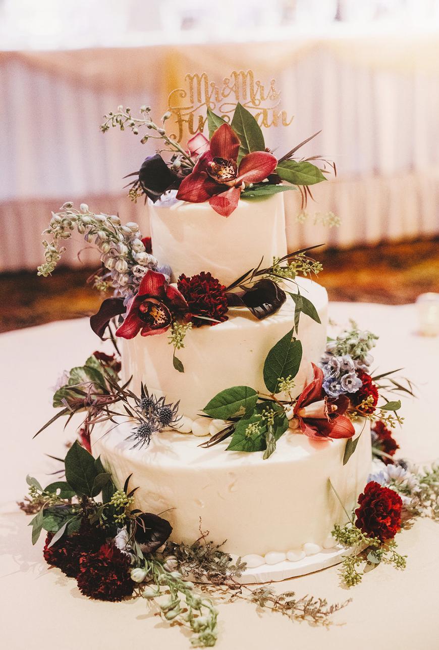 Wedding Ideas By Colour: Jewel Tone Wedding Theme - All about cake | CHWV