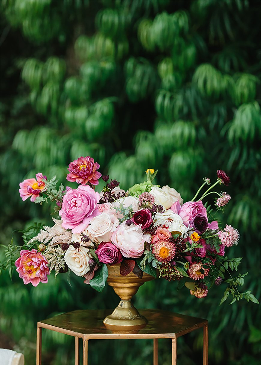 Wedding Ideas By Colour: Jewel Tone Wedding Theme - Fabulous florals | CHWV