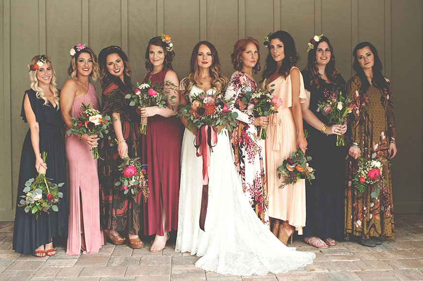 Wedding Ideas By Colour: Jewel Tone Wedding Theme - Bridal Style | CHWV