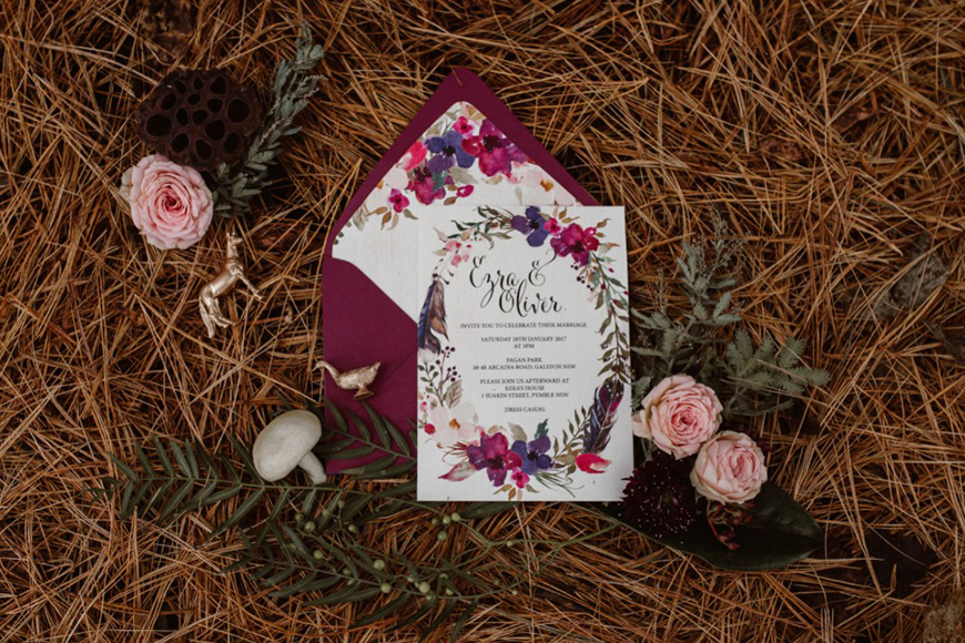 Wedding Ideas By Colour: Jewel Tone Wedding Theme - Design and Décor | CHWV