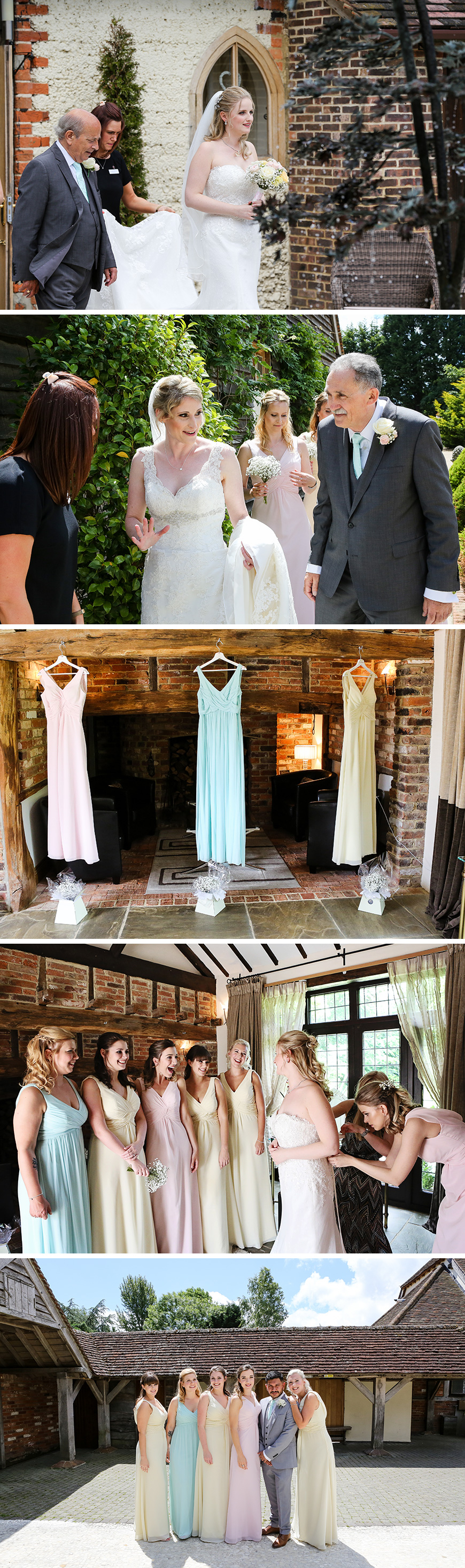 Real Wedding - Joanna and Katy's Elegant Summer Wedding At Rivervale Barn | CHWV