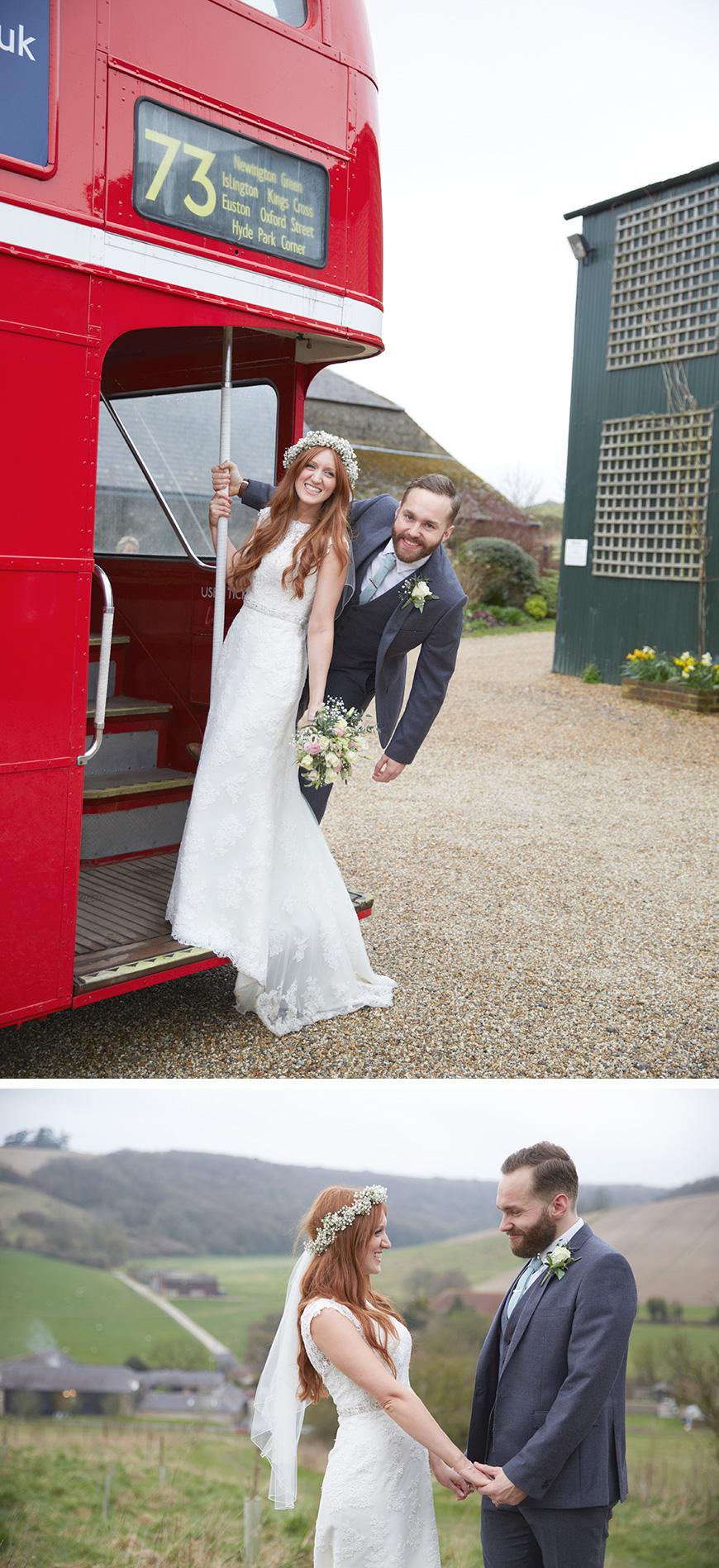 Real Wedding - Karis and Ed's Rustic Spring Wedding at Upwaltham Barns | CHWV