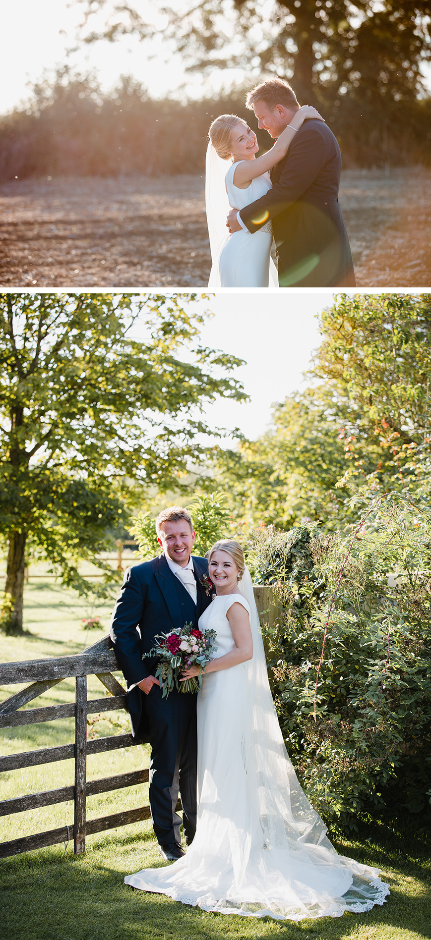 Real Wedding - Katherine and Matthew's Sun-soaked Summer Wedding at Blackwell Grange | CHWV