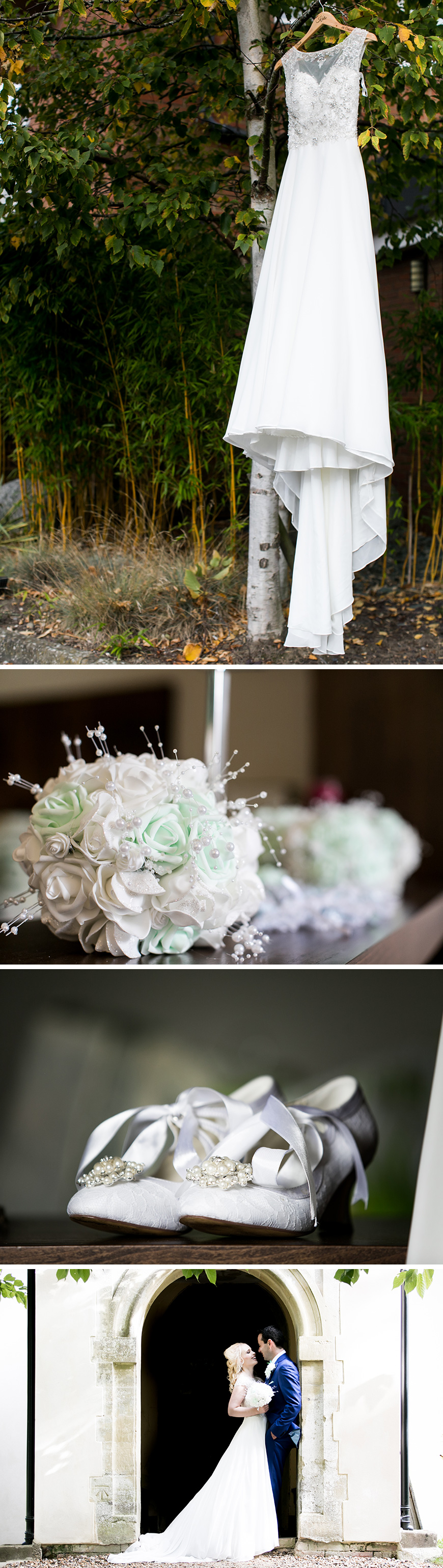 Real Wedding - Katie and Mariano's Rustic Autumn Wedding at Wasing Park | CHWV