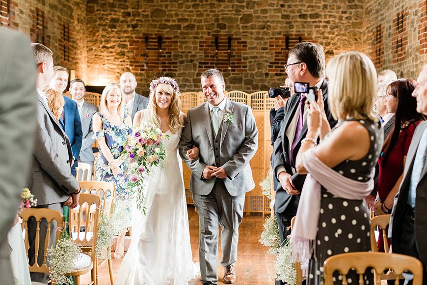 Real Wedding - Kelly and Adam's Colourful Summer Wedding at Bartholomew Barn | CHWV