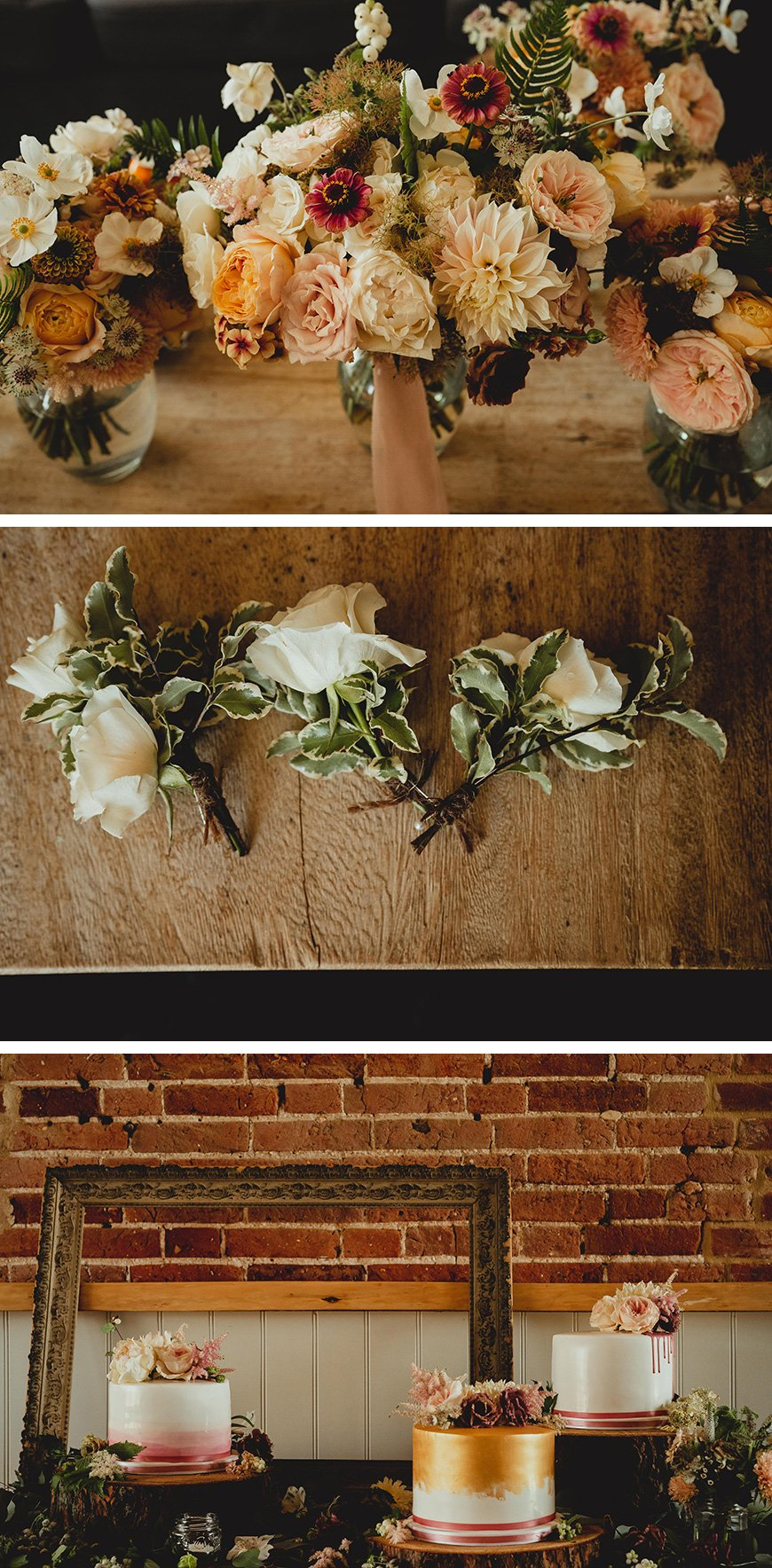 Real Wedding - Kim and Glen's Floral Manor Mews Wedding | CHWV