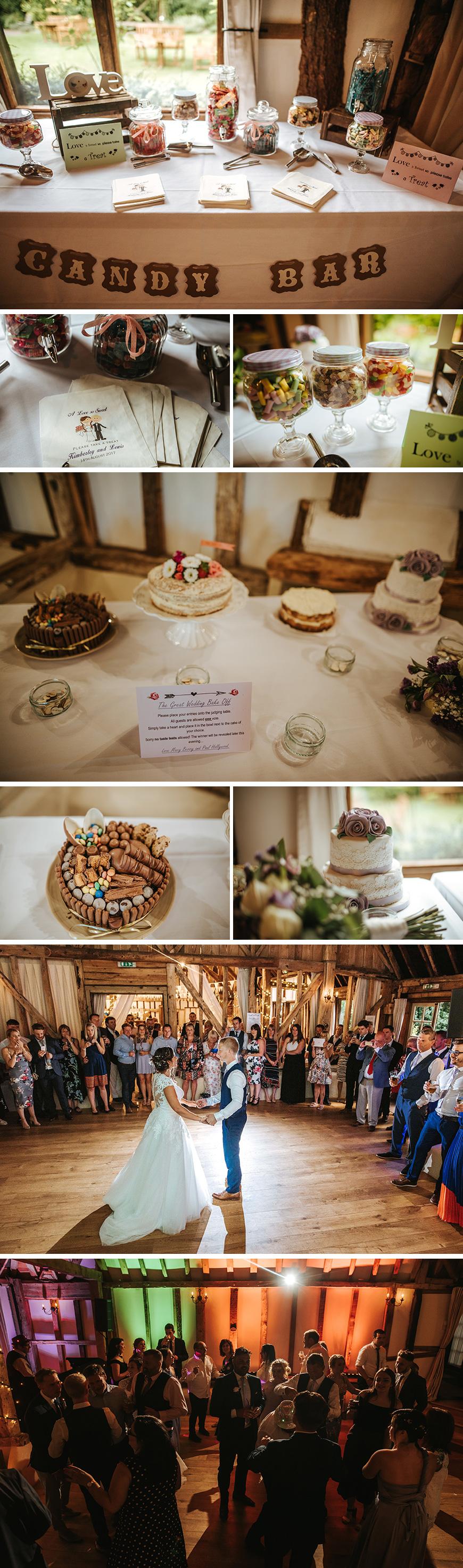 Real Wedding - Kim and Lewis's Pretty Pastel Summer Wedding at Clock Barn | CHWV