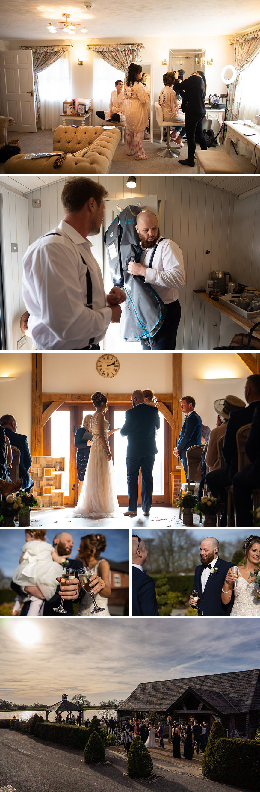 Real Wedding - Kimberley and Thomas' Rustic Winter Wedding at Sandhole Oak Barn | CHWV