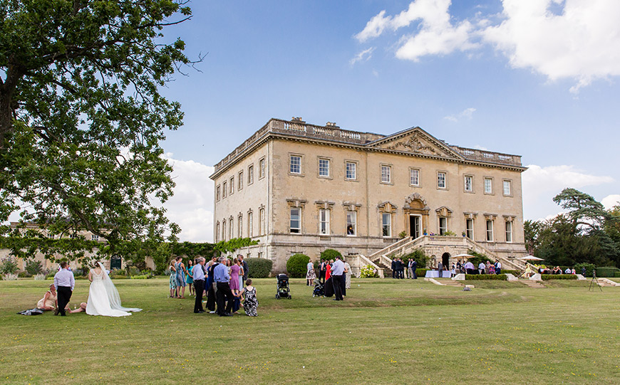 15 Manor House Wedding Venues For A Summer Wedding - Kirtlington Park | CHWV