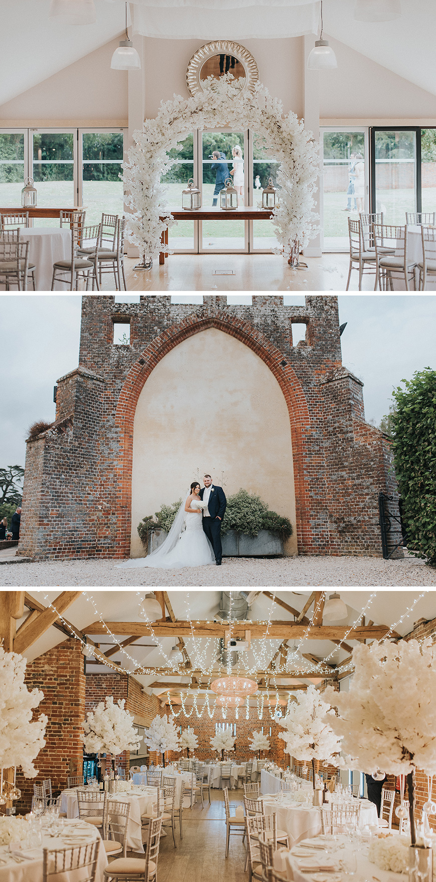 Real Wedding - Kirsty and Andrew's Magical Summer Wedding At Wasing Park | CHWV