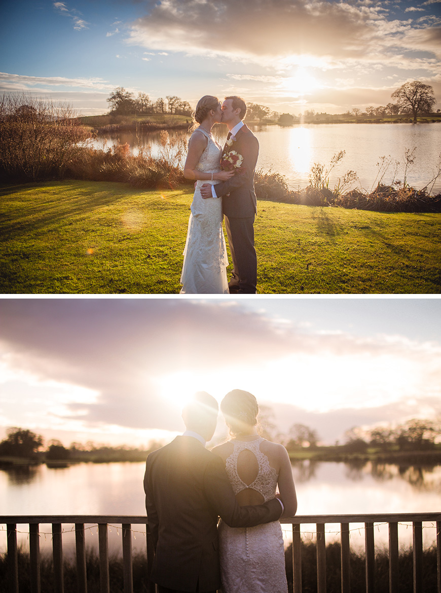 Real Wedding - Kirsty and Richard's Stunning Winter Wedding At Sandhole Oak Barn | CHWV