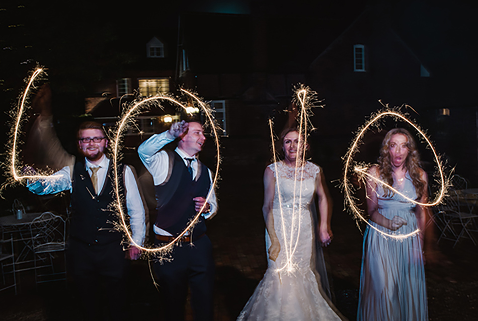 Real Wedding – Lauren and Chris' laid-back, rustic affair at Curradine Barns