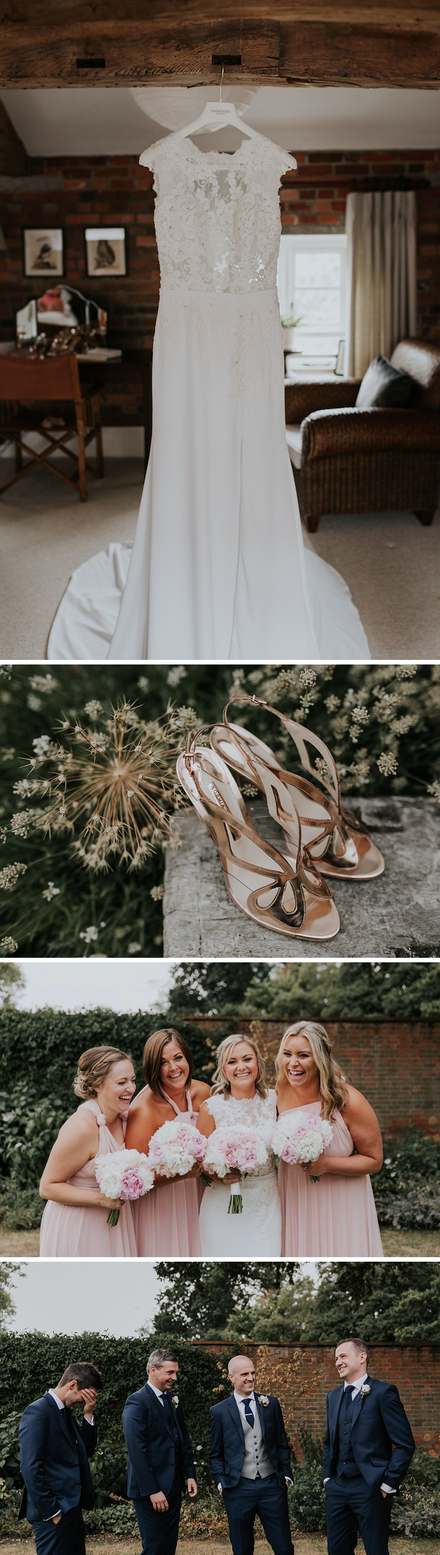 Real Wedding - Leanne and James's Contemporary Summer Wedding at Wasing Park | CHWV