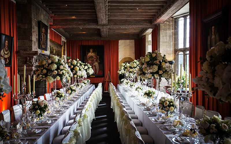 Castle wedding venue in Kent | Leeds Castle | CHWV