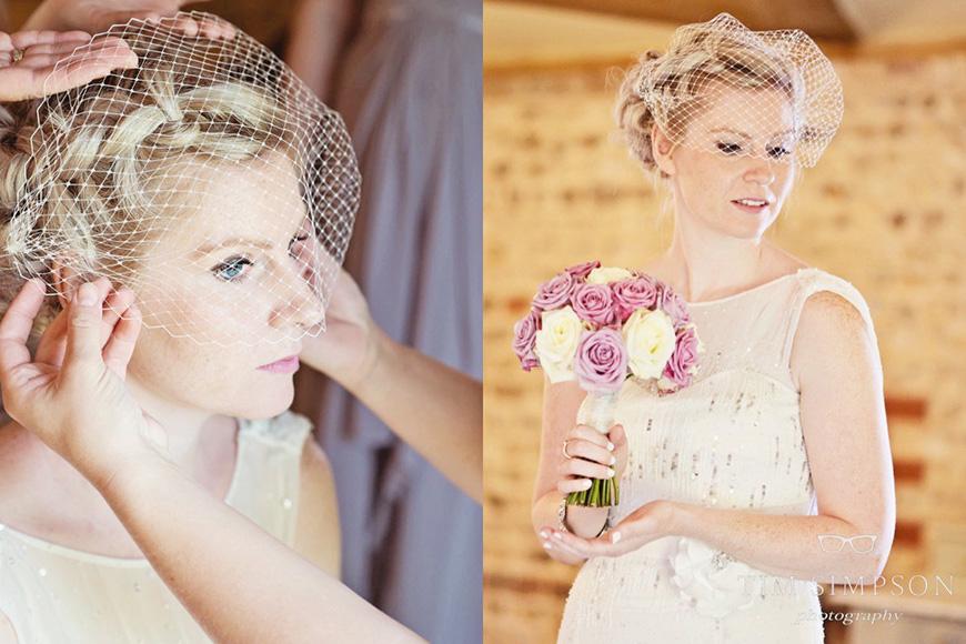 Lisa and Mark's real life wedding at Upwaltham Barns - Lisa | CHWV