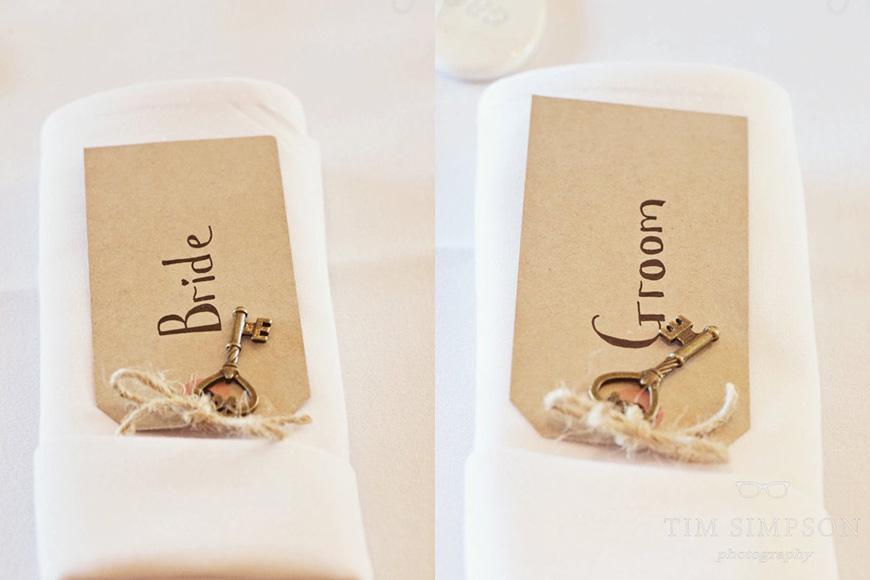 Lisa and Mark's real life wedding at Upwaltham Barns - Place names | CHWV