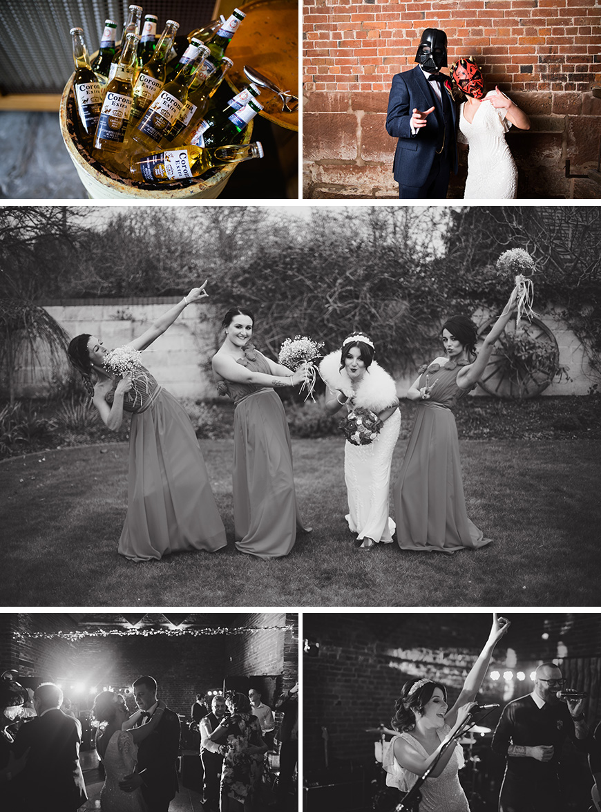 A Perfectly Personalised Wedding Day at Curradine Barns - Fun | CHWV