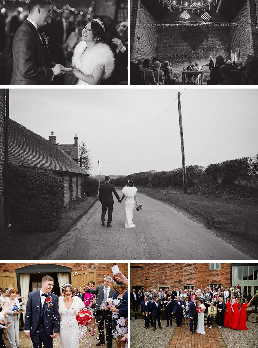 A Perfectly Personalised Wedding Day at Curradine Barns - Reception | CHWV