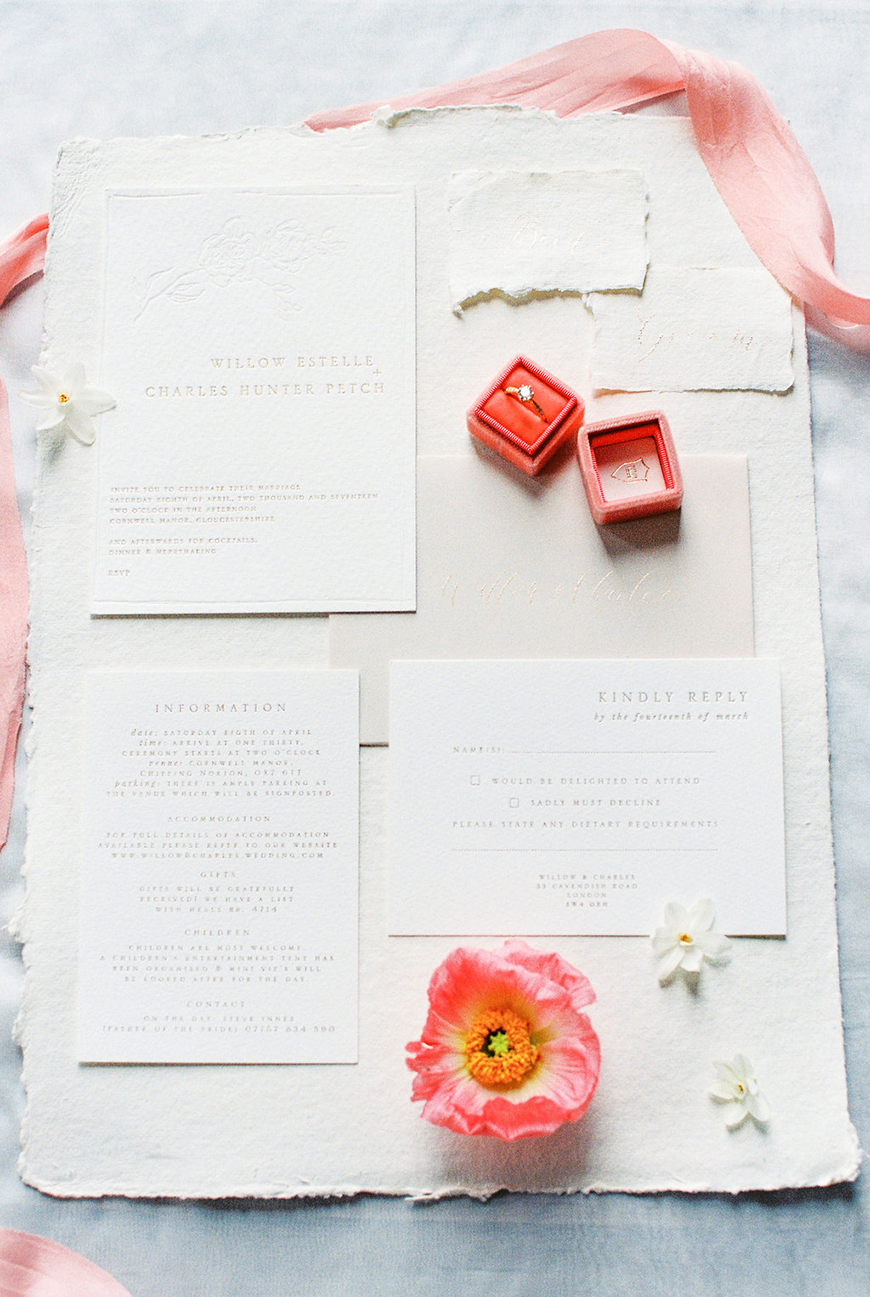 How To Use Living Coral On Your Wedding Day | CHWV