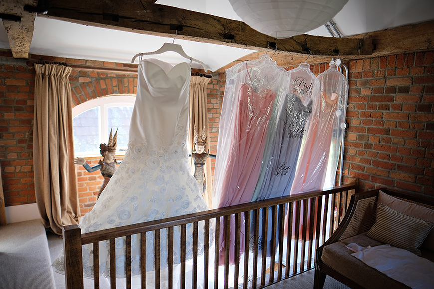Real Wedding - A Shabby-Chic Style Wedding at Reading's Wasing Park - Bridesmaids dresses | CHWV