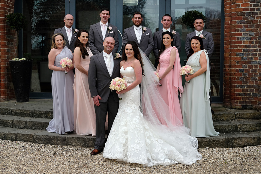 Real Wedding - A Shabby-Chic Style Wedding at Reading's Wasing Park - Outfits   CHWV