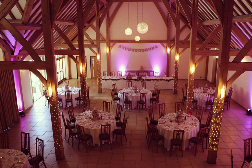 A Stylish Summer Celebration at Rivervale Barn in Hampshire | CHWV